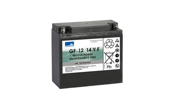 Sonnenschein Trakční gelová baterie GF 12 014 Y F, 12V/15Ah