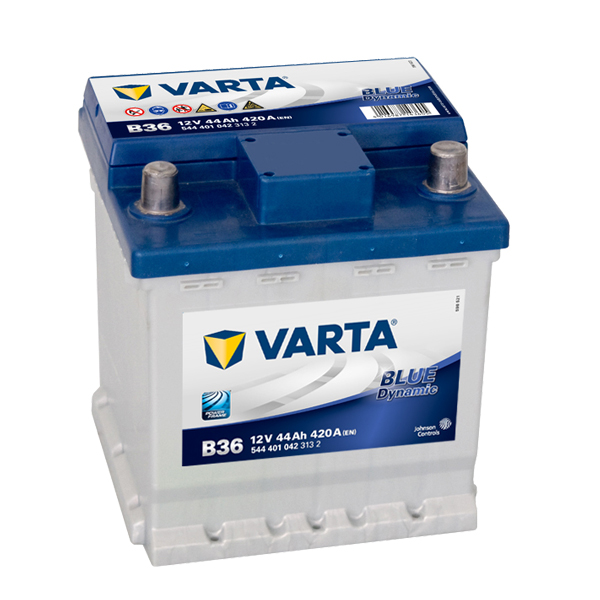 Autobaterie VARTA BLUE Dynamic 44Ah, 12V, B36