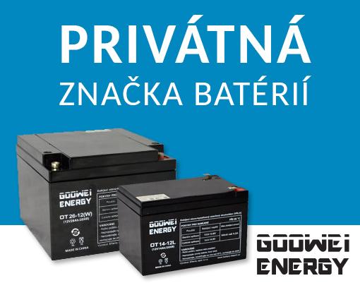 Goowei batérie