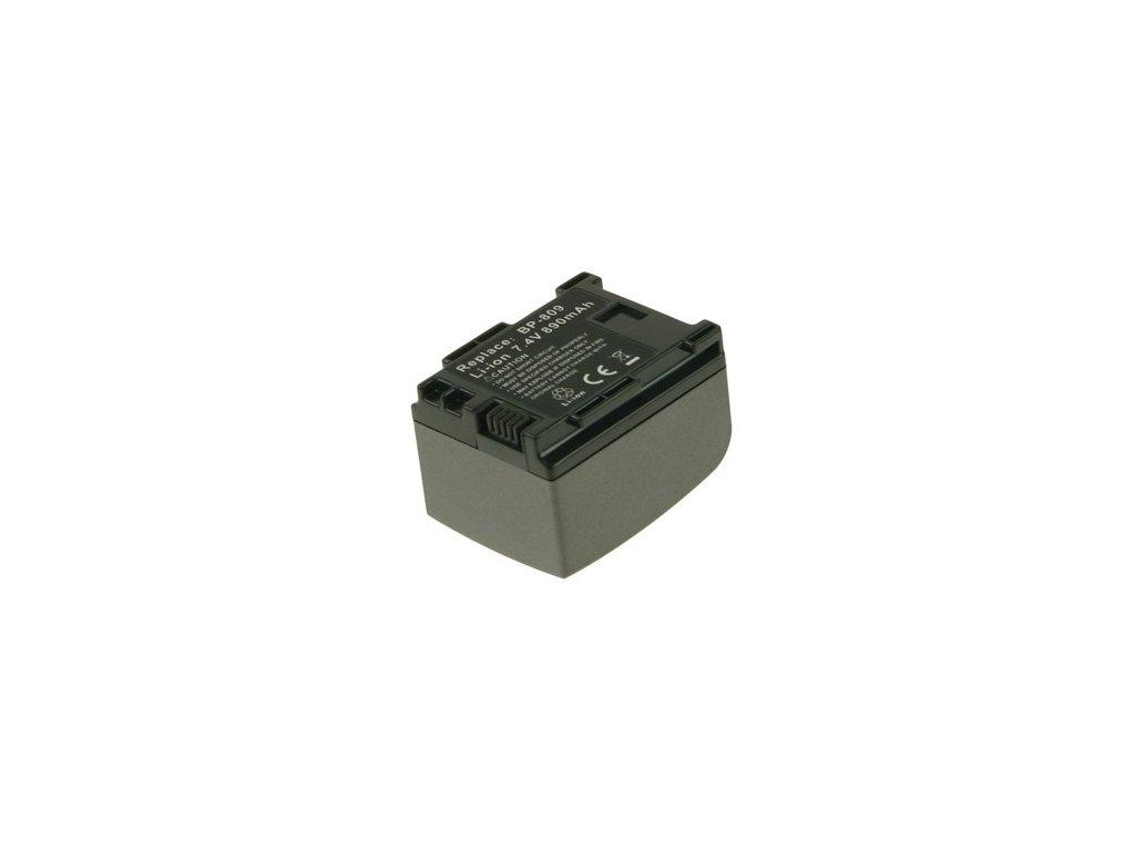 Baterie do videokamery Sony H F10/H F100/H F11/H G20/H G21/iVIS HF100/L egria HF20/VIXIA HF M30/VIXIA HF M300/VIXIA HF M31, 860mAh, 7.4V, VBI9922A