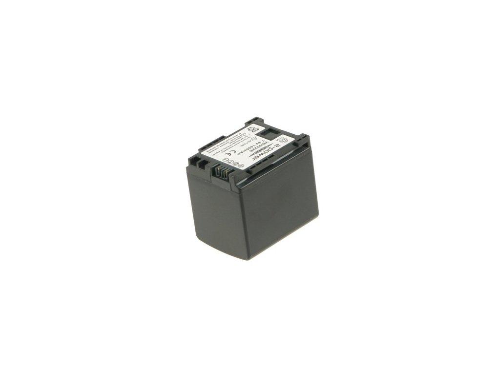 Baterie do videokamery Sony H F10/H F100/H F11/H G20/H G21/iVIS HF100/L egria HF20/VIXIA HF M30/VIXIA HF M300/VIXIA HF M31, 1400mAh, 7.2V, VBI9922B
