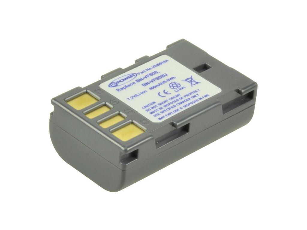 Baterie do videokamery JVC GZ-HD7/GZ-HD7US/GZ-HM200/GZ-HM200BEK/GZ-MG130/GZ-MG130US/GZ-MG135/GZ-MG155/GZ-MG155US/GZ-MG157, 750mAh, 7.2V, VBI9918A