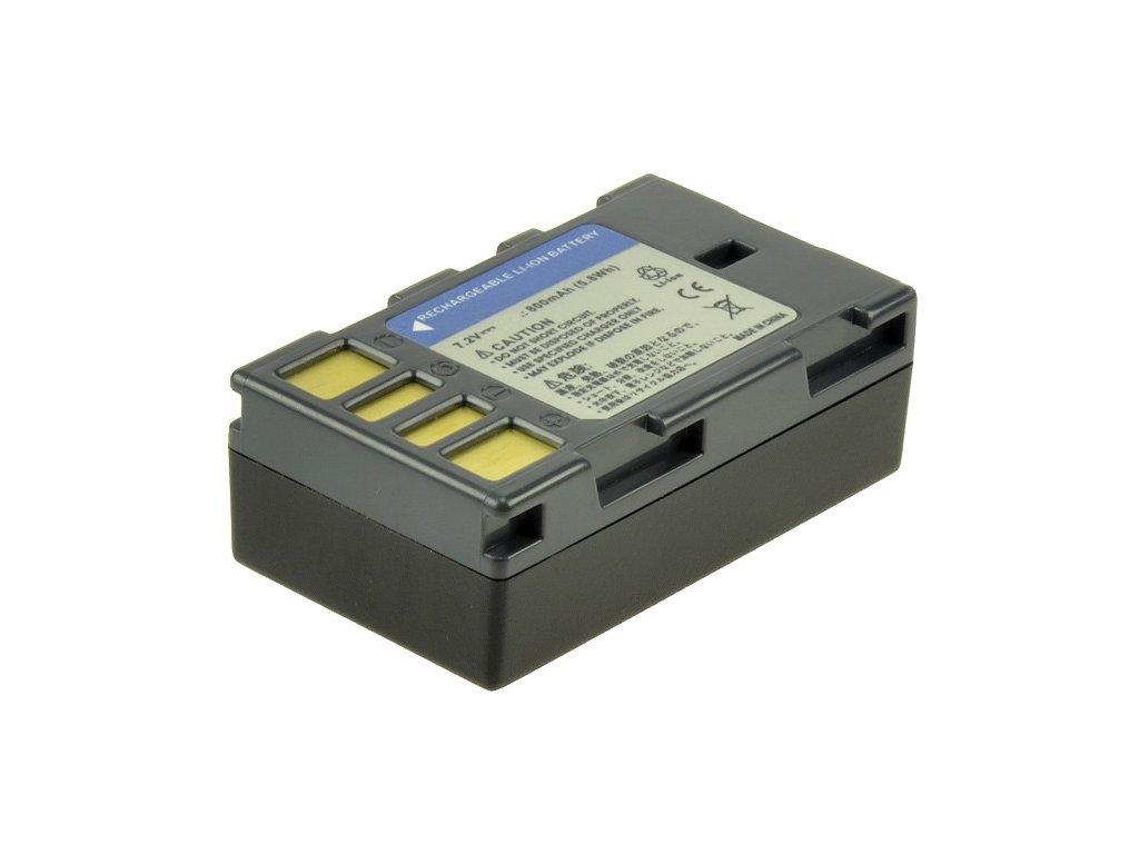 Baterie do videokamery JVC GZ-X900/GZ-X900EK/GZ-X900EU/GZ-X900U, 800mAh, 7.2V, VBI9709A