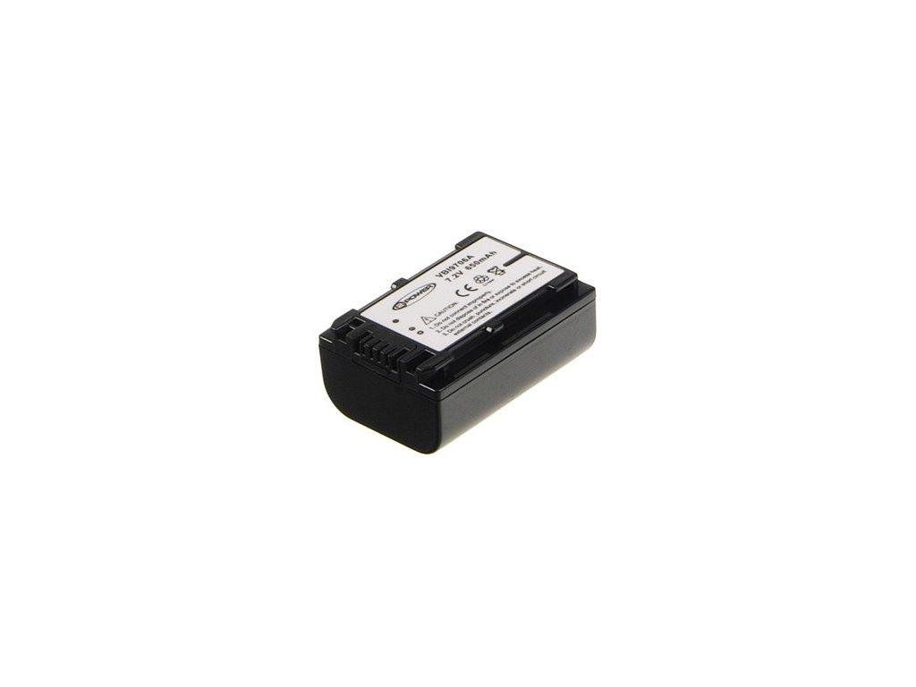 Baterie do videokamery Sony HDR-CX350VET/HDR-CX360/HDR-CX505VE/HDR-CX520VE/HDR-CX550/HDR-CX550V/HDR-CX6EK/HDR-CX700/HDR-HC3E/HDR-HC5E, 980mAh, 6.8V,  VBI9706A