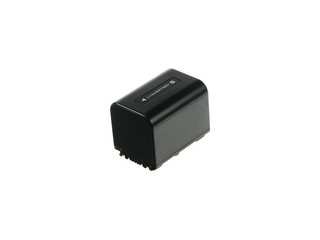 Baterie do videokamery Sony HDR-CX350VET/HDR-CX360/HDR-CX505VE/HDR-CX520VE/HDR-CX550/HDR-CX550V/HDR-CX6EK/HDR-CX700/HDR-HC3E/HDR-HC5E, 1620mAh, 7.2V, VBI9706B
