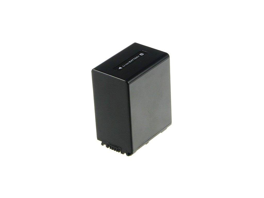 Baterie do videokamery Sony HDR-CX105/HDR-CX105E/HDR-CX105ES/HDR-CX110/HDR-CX115E/HDR-CX115EB/HDR-CX115EL/HDR-CX115ER/HDR-CX116E/HDR-CX116EB, 3150mAh, 6.8V, VBI9706C