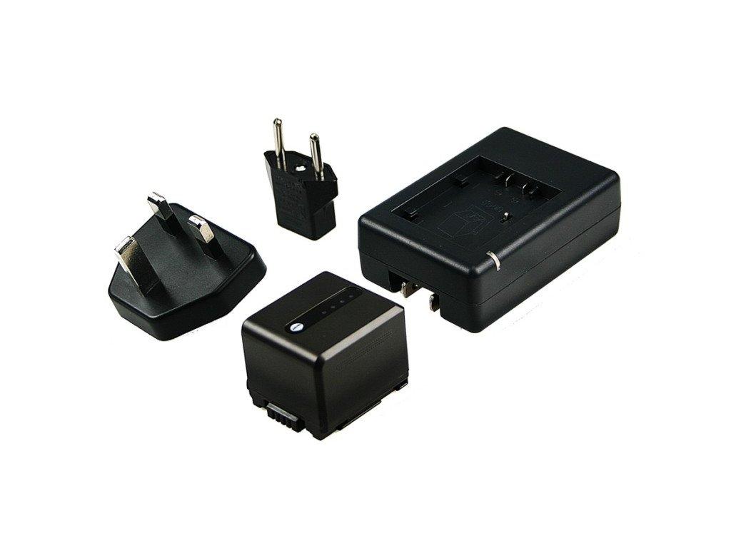 Baterie do videokamery Panasonic SDR-H280/SDR-H288GK/SDR-H40/SDR-H60/SDR-H80/SDR-H90/VDR-D50/VDR-D58GK/VDRD50, 1100mAh, 7.2V, VBI9702A