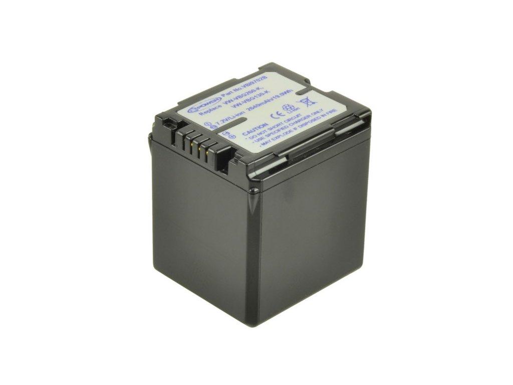 Baterie do videokamery Panasonic AG-HMC70/AG-HSC1U/MT10/NV-GS328GK/NV-GS330/NV-GS90/NV-GS98GK/PV-GS90/SDR H280/SDR-H258GK, 2200mAh, 7.2V, VBI9702B