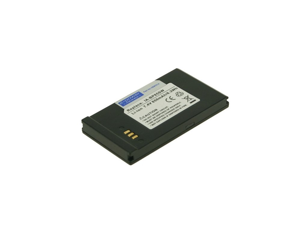 Baterie do videokamery Samsung VP-DX10, 850mAh, 7.4V, VBI9701A