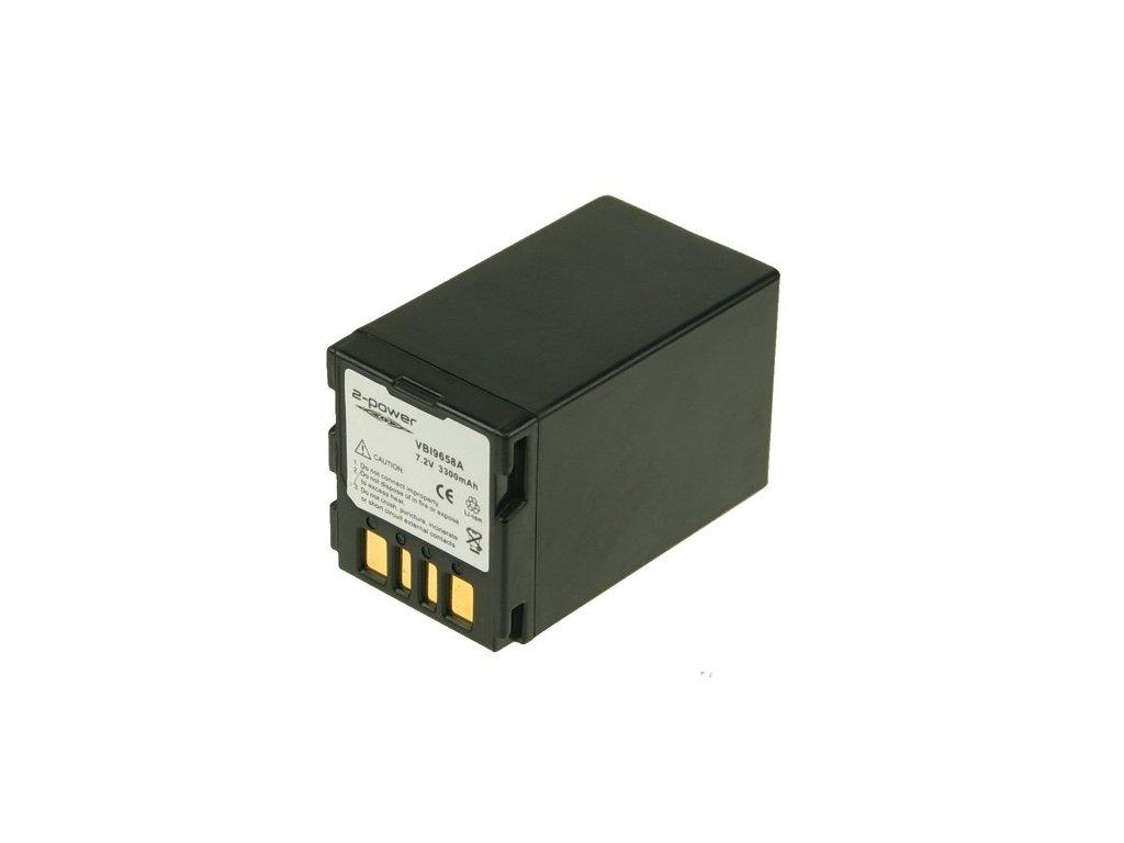Baterie do videokamery JVC GR-D360/GR-D360E/GR-D360EX/GR-D370/GR-D370AC/GR-D370AH/GR-D370E/GR-D370EX/GR-D370U/GR-D370US, 3300mAh, 7.2V, VBI9658A