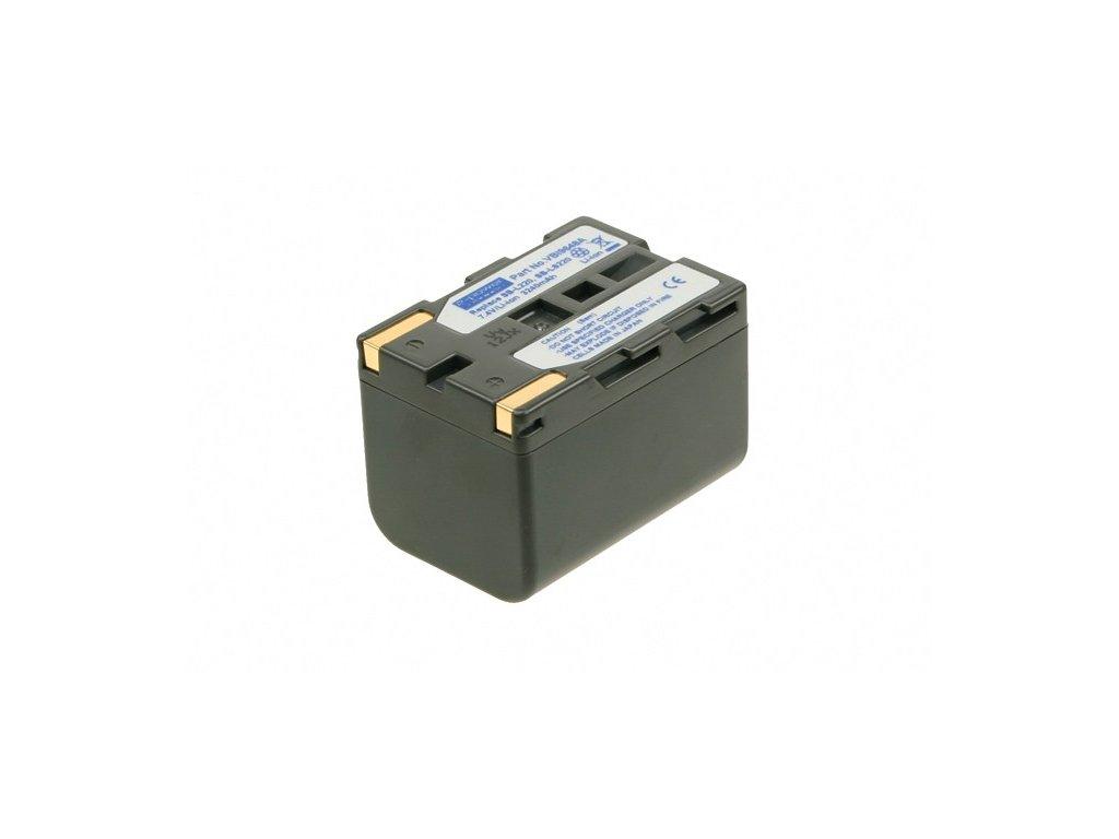 Baterie do videokamery Samsung VP-D20i/VP-D21/VP-D21i/VP-D23/VP-D230/VP-D24/VP-D250/VP-D26/VP-D270/VP-D270i, 3240mAh, 7.4V, VBI9648A
