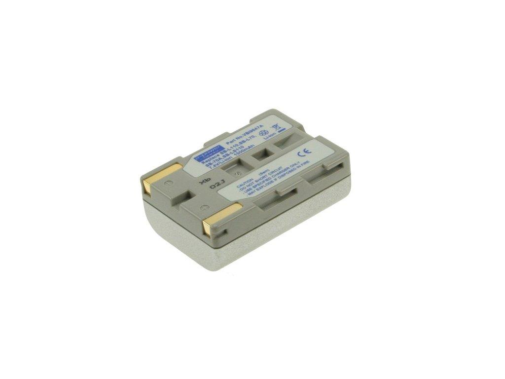 Baterie do videokamery Samsung SC-D71/SCD-73/SC-D73/SCD-75/SC-D75/SCD-77/SC-D77/SCD-80/SC-D80/SCD-81, 1500mAh, 7.2V,  VBI9647A