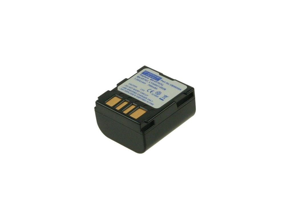 Baterie do videokamery JVC GZ-MG47E/GZ-MG47EX/GZ-MG50/GZ-MG505/GZ-MG505AA/GZ-MG505AC/GZ-MG505AG/GZ-MG505AH/GZ-MG505AS/GZ-MG505B, 700mAh, 7.2V, VBI9656A
