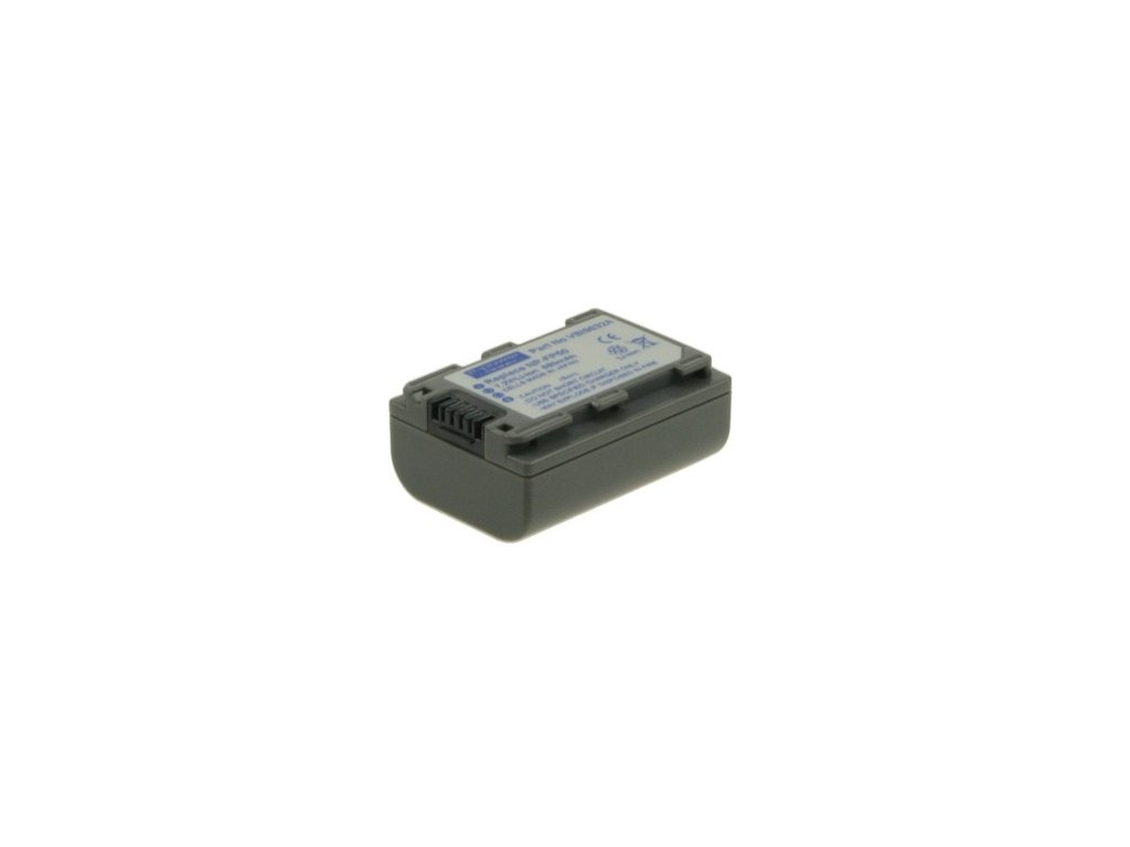 Baterie do videokamery Sony DCR-HC96/DCR-SR100/DCR-SR40/DCR-SR60/DCR-SR80/HDR-HC3/NP-FP50, 700mAh, 7.2V, VBI9632A