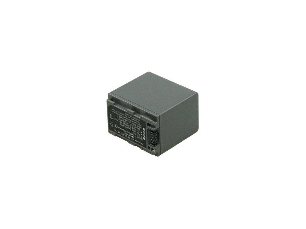 Baterie do videokamery Sony DCR-HC20E/DCR-HC21/DCR-HC23/DCR-HC24E MiniDV/DCR-HC26/DCR-HC28/DCR-HC30/DCR-HC30E/DCR-HC32/DCR-HC35, 2460mAh, 7.2V, VBI9634A