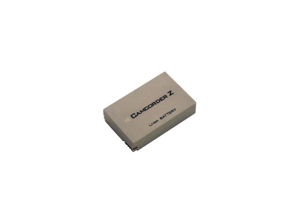 Baterie do videokamery Sharp VL-Z300U/VL-Z3H/VL-Z3S/VL-Z3U/VL-Z5/VL-Z5000U/VL-Z500U/VL-Z5H/VL-Z5S/VL-Z5U, 1100mAh, 7.4V, VBI9614A