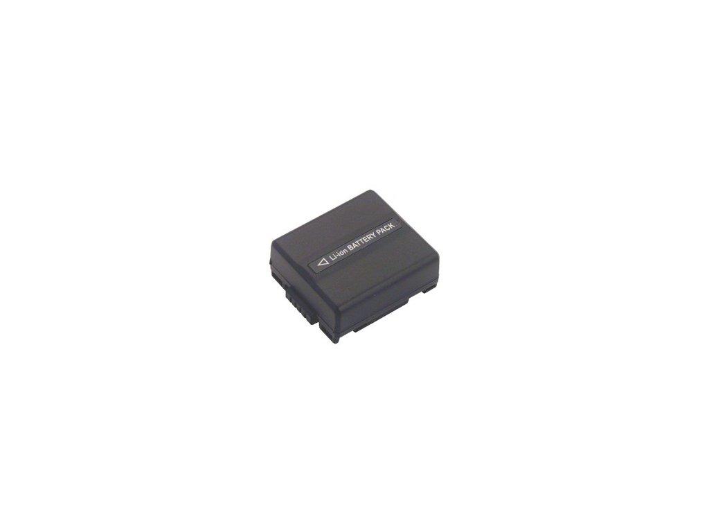 Baterie do videokamery Panasonic VDR-D300EG-S/VDR-D308GK/VDR-D310/VDR-D310E-S/VDR-D310EB-S/VDR-D310EG-S/VDR-D400/VDR-M250/VDR-M30/VDR-M30K, 720mAh, 7.2V, VBI9607A