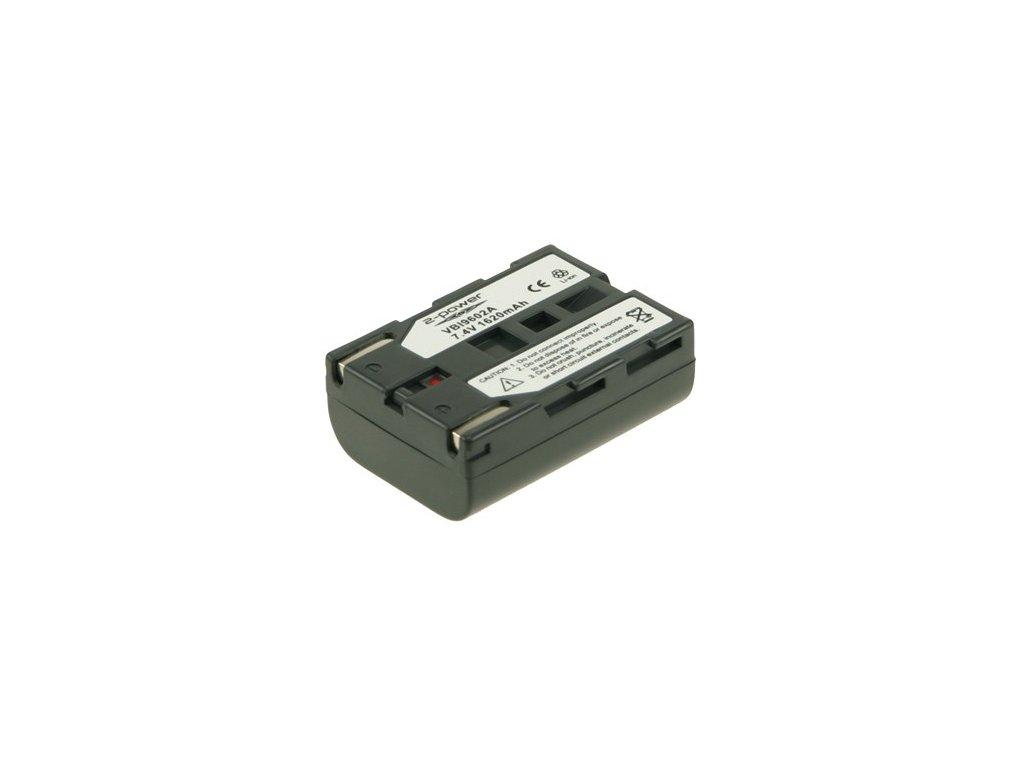 Baterie do videokamery Samsung VP-D250/VP-D26/VP-D270/VP-D270i/VP-D30/VP-D301i/VP-D303/VP-D303Di/VP-D303i/VP-D305, 1620mAh, 7.4V, VBI9602A