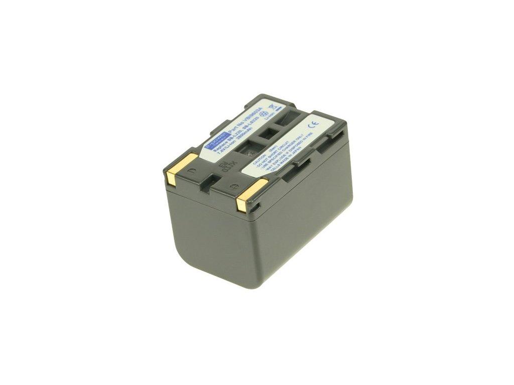 Baterie do videokamery Samsung VP-D20i/VP-D21/VP-D21i/VP-D23/VP-D230/VP-D24/VP-D250/VP-D26/VP-D270/VP-D270i, 2800mAh, 7.4V, VBI9603A