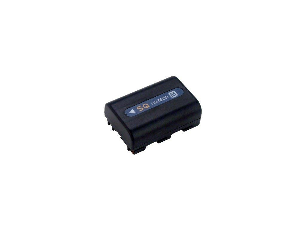 Baterie do videokamery Sony MVC-CD300/MVC-CD350/MVC-CD400/MVC-CD500/NP-FM30/NP-FM50/NP-FM65/NP-QM51/NP-QM71, 1100mAh, 7.2V, VBI9598A