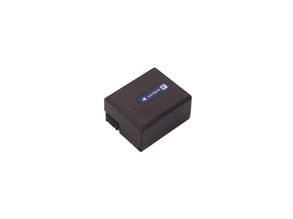 Baterie do videokamery Sony DCR-IP5/DCR-IP55/DCR-IP55E/DCR-IP5E/DCR-IP7/DCR-IP7BT/DCR-IP7E/DCR-PC106/DCR-PC107/DCR-PC109, 1300mAh, 7.2V, VBI9593A