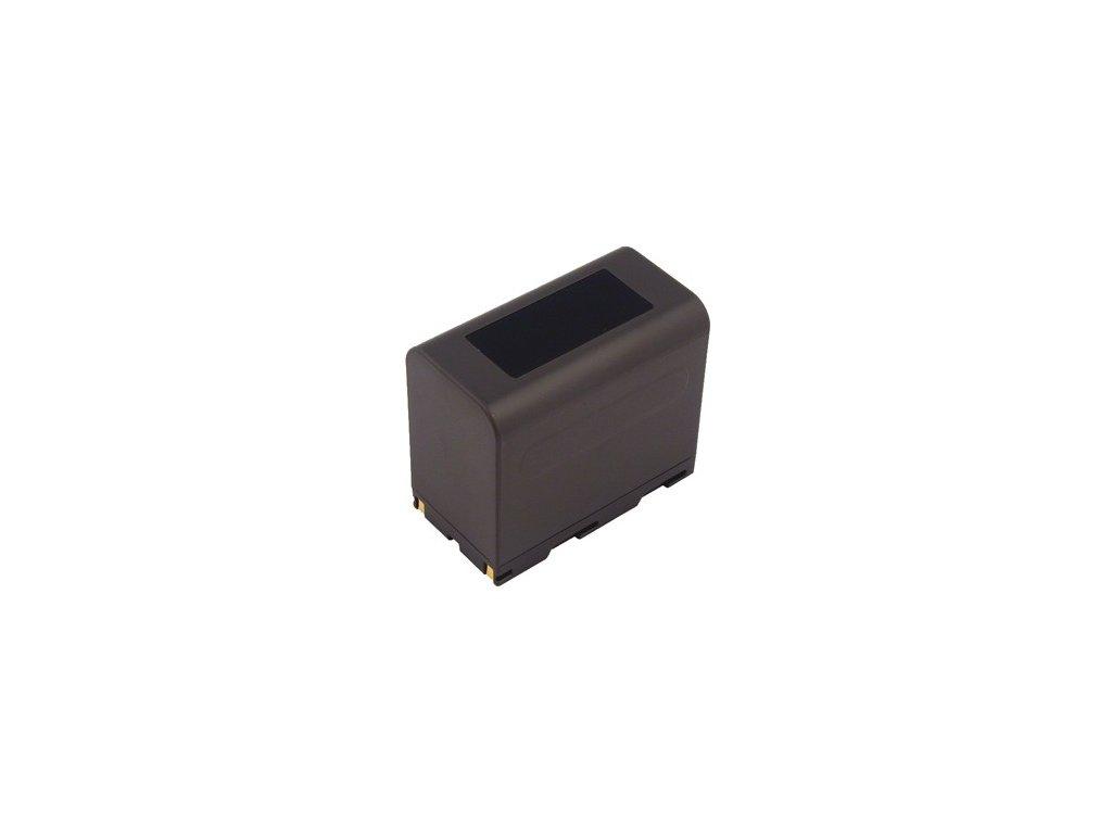 Baterie do videokamery Samsung VP-L600/VP-L600B/VP-L700/VP-L700(U)/VP-L700-U-/VP-L710/VP-L750/VP-L750D/VP-L770/VP-L800, 6000mAh, 7.4V, VBI9567A