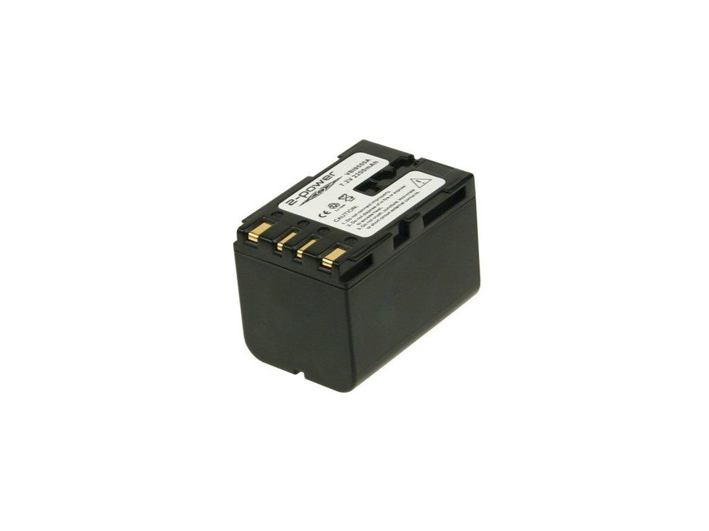 Baterie do videokamery JVC/RCA/Hitachi BN-V408U/BN-V416U/CC-9360/CC-9363/CC-9370/CC-9373/CU-VH1/CU-VH1US/GR DVL100/GR DVL107, 2200mAh, 7.2V, VBI9555A
