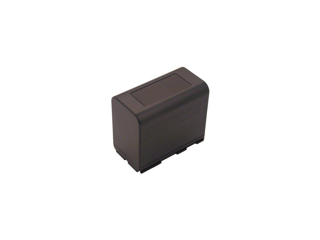 Baterie do videokamery Canon XM2/XV1/XV2, 6600mAh, 7.2V, VBI9534A