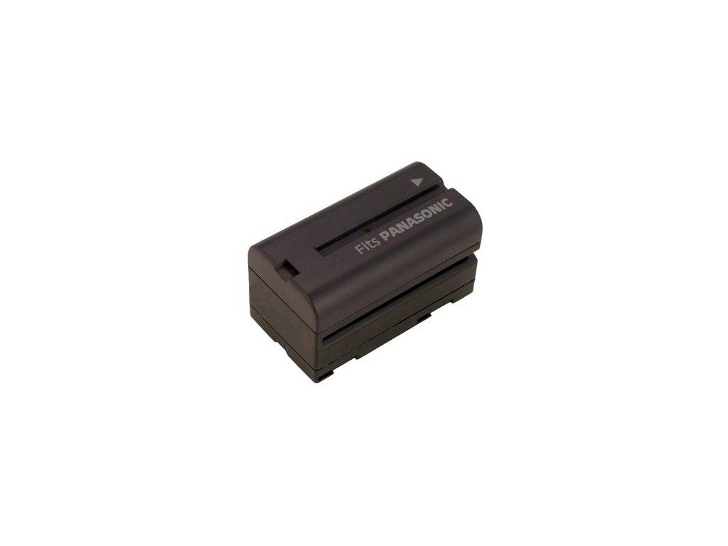 Baterie do videokamery Hitachi/JVC/Panasonic VM-H945LA/VM-H955LA/GR-DV9000/GR-DVL9000U/GR-DVM1/GR-DVM1U/AG-EZ1U/AG-EZ20/AG-EZ30P/AG-EZ30U, 4400mAh, 7.2V, VBI9509A