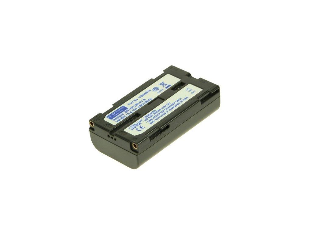 Baterie do videokamery Hitachi/JVC/Panasonic VM-H91E/VM-H945LA/VM-H955LA/GR-DV9000/GR-DVL9000U/GR-DVM1/GR-DVM1U/AG-EZ1U/AG-EZ20/AG-EZ30P, 2200mAh, 7.2V, VBI0987A