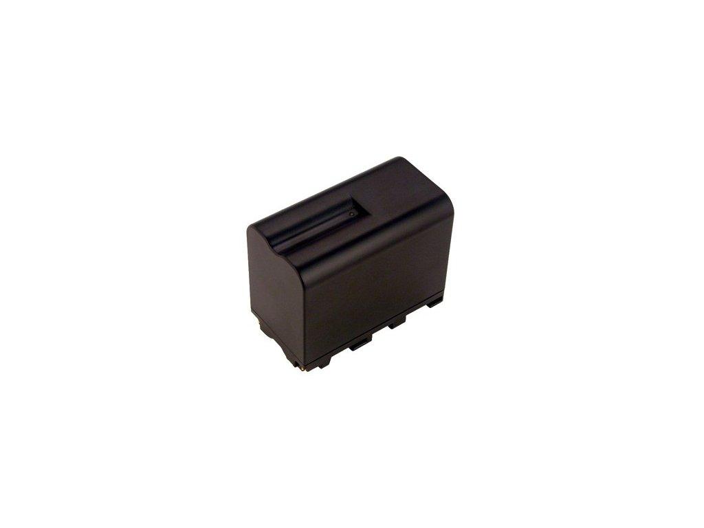 Baterie do videokamery Sony NP-550/NP-F330/NP-F550/NPF 550/PLM-100/SC5/SC7/TR7100/TRV210/TRV77, 6600mAh, 7.2V, VBI0963A
