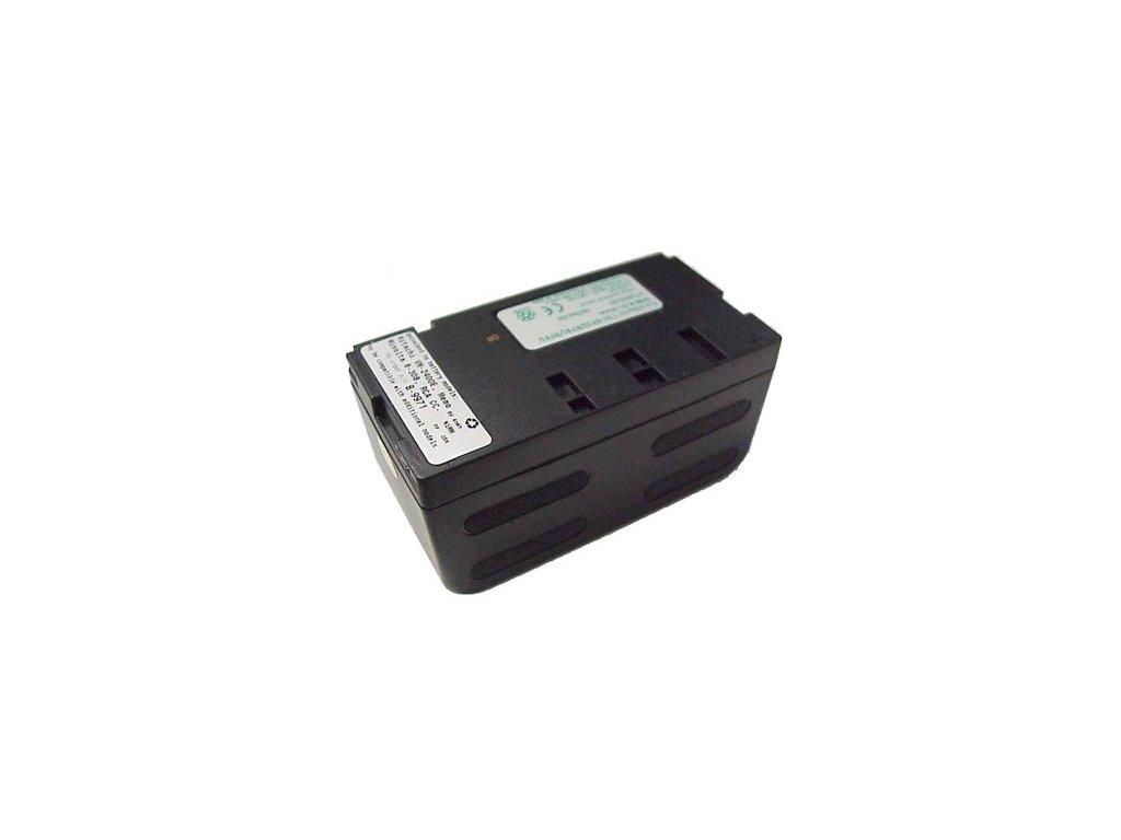Baterie do videokamery Hitachi VM-E410A/VM-E420/VM-E44/VM-E510/VM-E510A/VM-E521A/VM-E521AC/VM-E52A/VM-E53A/VM-E53E, 4000mAh, 6V, VBH9971A