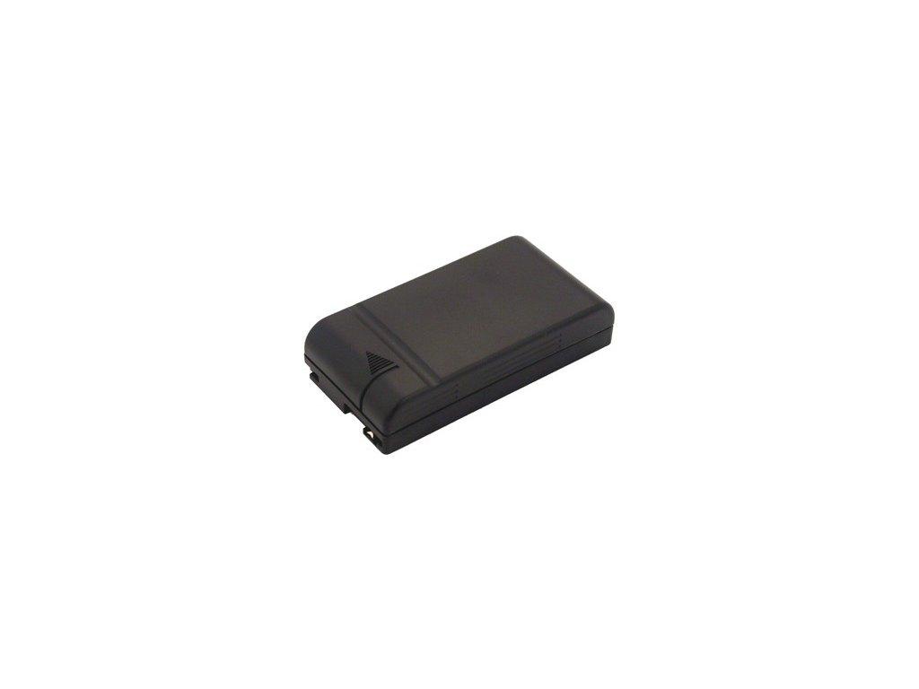Baterie do videokamery Hitachi VM-H1000/VM-H18/VM-H184/VM-H18A/VM-H25E/VM-H37/VM-H37E/VM-H38/VM-H38A/VM-H38E, 2100mAh, 6V, VBH0997A