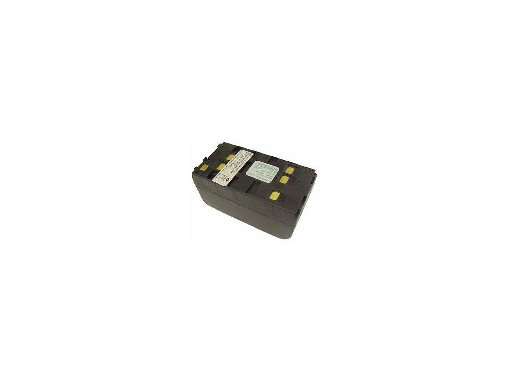 Baterie do videokamery Fujix F615/F615AF/F620/F620AF/F630DE/F650/F650AF/F66/F660/F690, 4000mAh, 6V, VBH0951A
