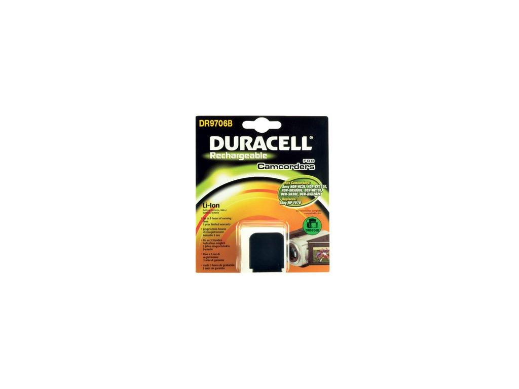 Baterie do videokamery Sony HDR-CX11E/HDR-CX130/HDR-CX150/HDR-CX155E/HDR-CX300/HDR-CX305E/HDR-CX305EB/HDR-CX350/HDR-CX350V/HDR-CX350VE, 1640mAh, 7.4V, DR9706B