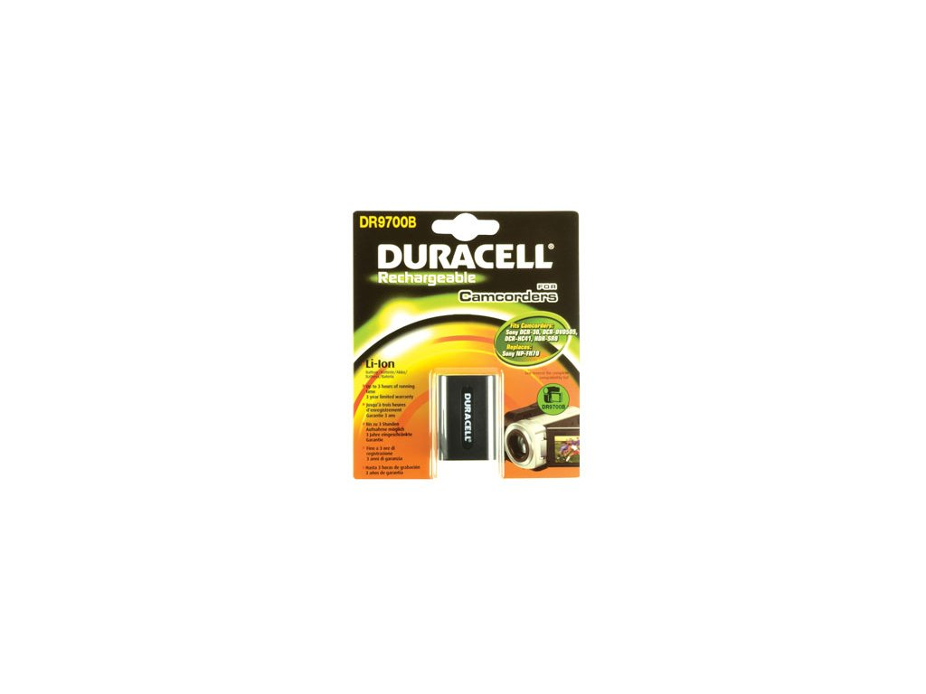 Baterie do videokamery Sony DCR-DVD308/DCR-DVD403/DCR-DVD404/DCR-DVD405/DCR-DVD406/DCR-DVD407/DCR-DVD408/DCR-DVD505/DCR-DVD506/DCR-DVD508, 1640mAh, 7.4V, DR9700B