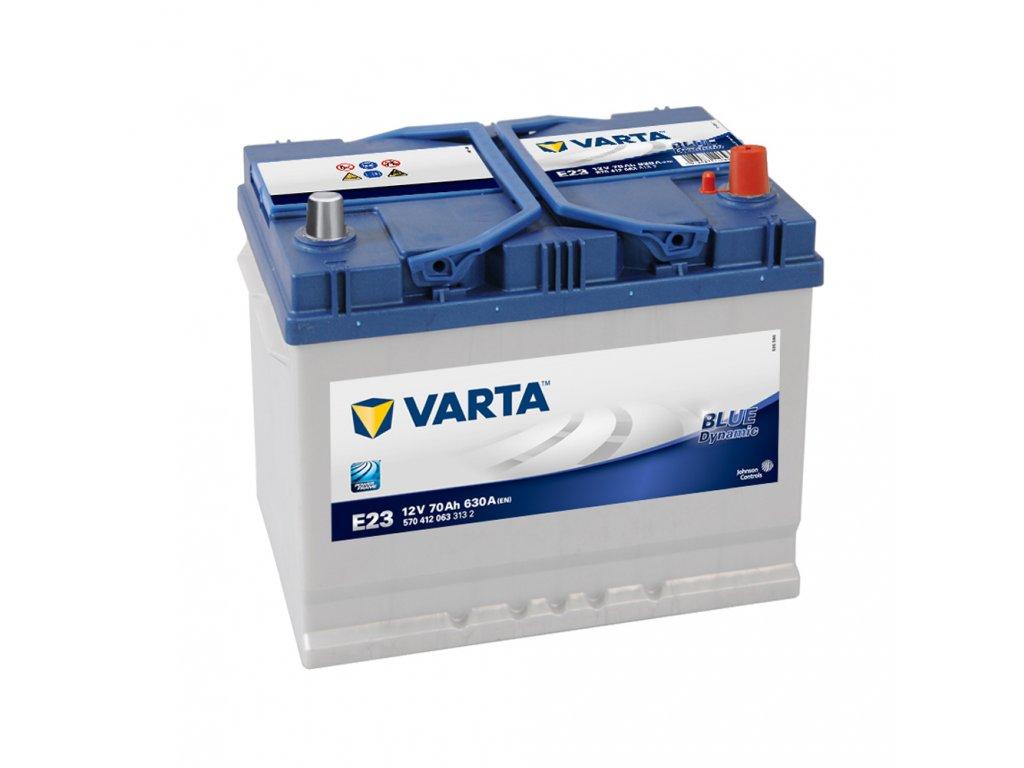 Autobaterie VARTA BLUE Dynamic 70Ah, 12V, E23