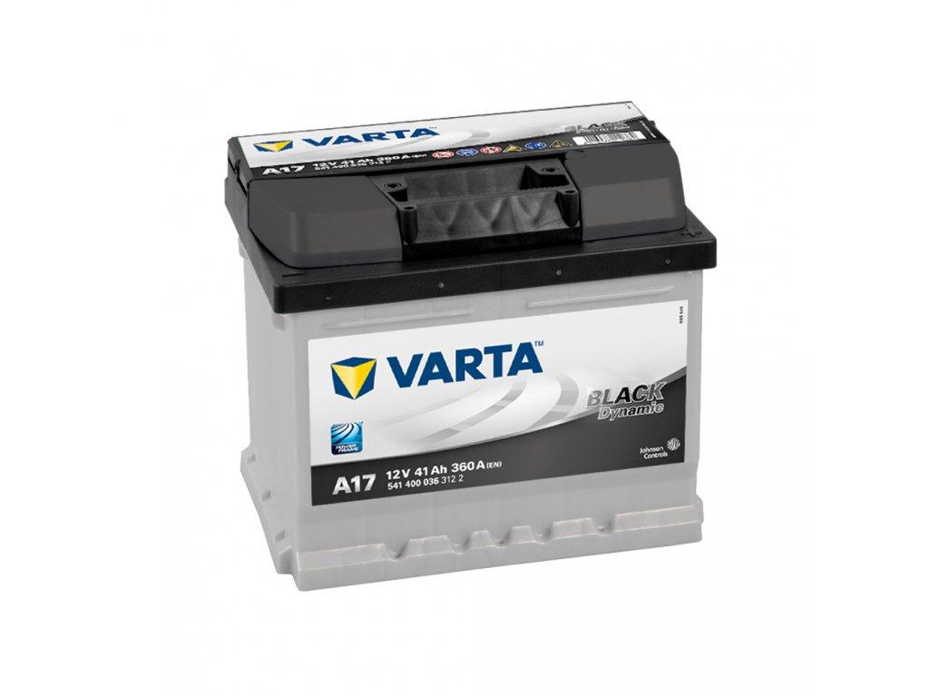 Autobatérie VARTA BLACK Dynamic 41Ah, 12V, A17