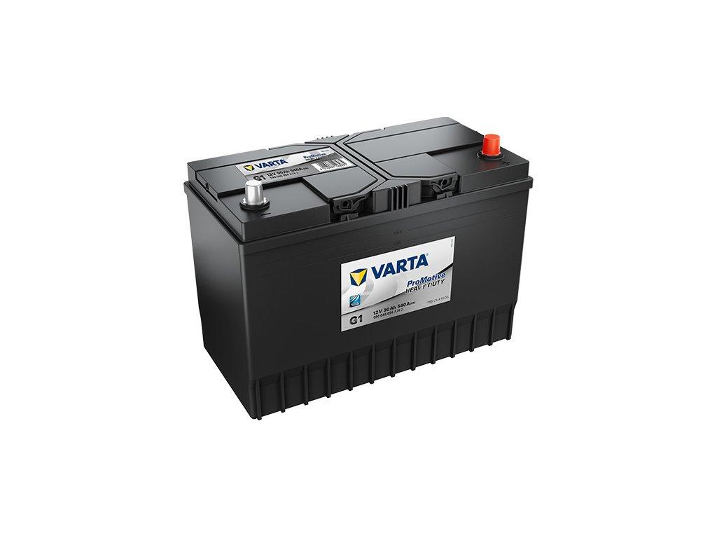 Autobatérie VARTA PROMOTIVE BLACK 90Ah, 540A, 12V, G1