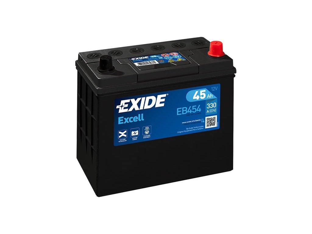 Autobatéria EXIDE EXCELL 45Ah, 12V, EB454