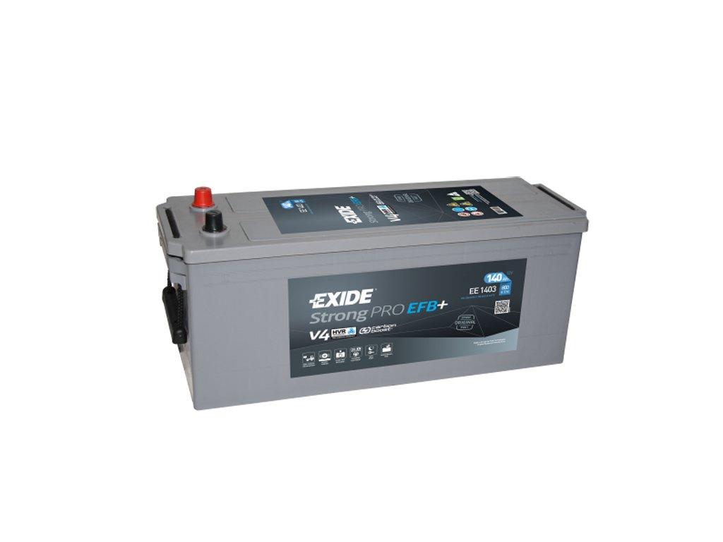 Autobatéria EXIDE Strong PRO EFB 140Ah, 12V, EE1403