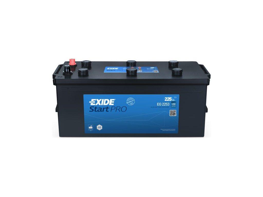 Autobatéria EXIDE StartPRO 215Ah,  12V, EG2153