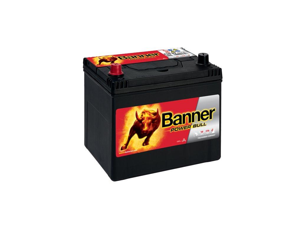 Autobaterie Banner Power Bull P60 69, 60Ah, 12V ( P6069 )