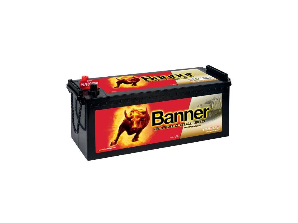 Autobaterie Banner Buffalo Bull SHD PROfessional 645 03, 145Ah, 12V (64503)