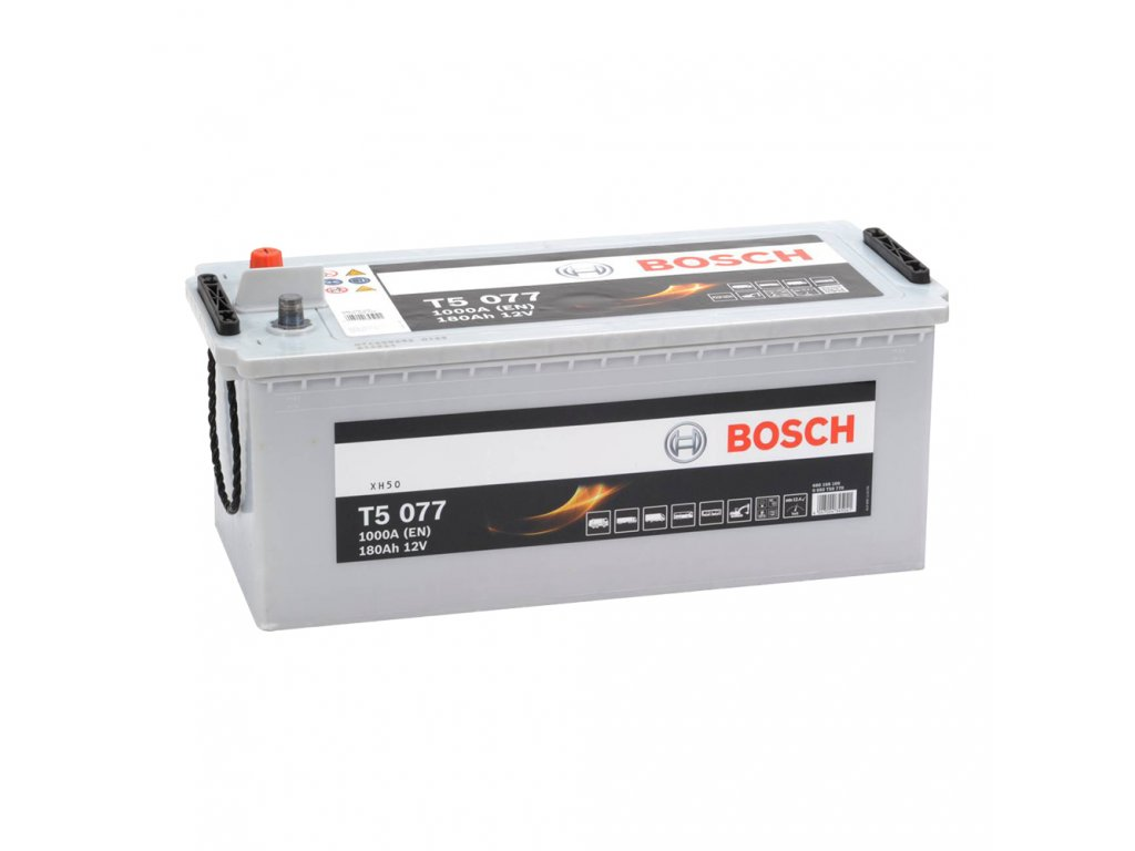 Autobatéria BOSCH T5 077, 180Ah, 12V (T50 770)