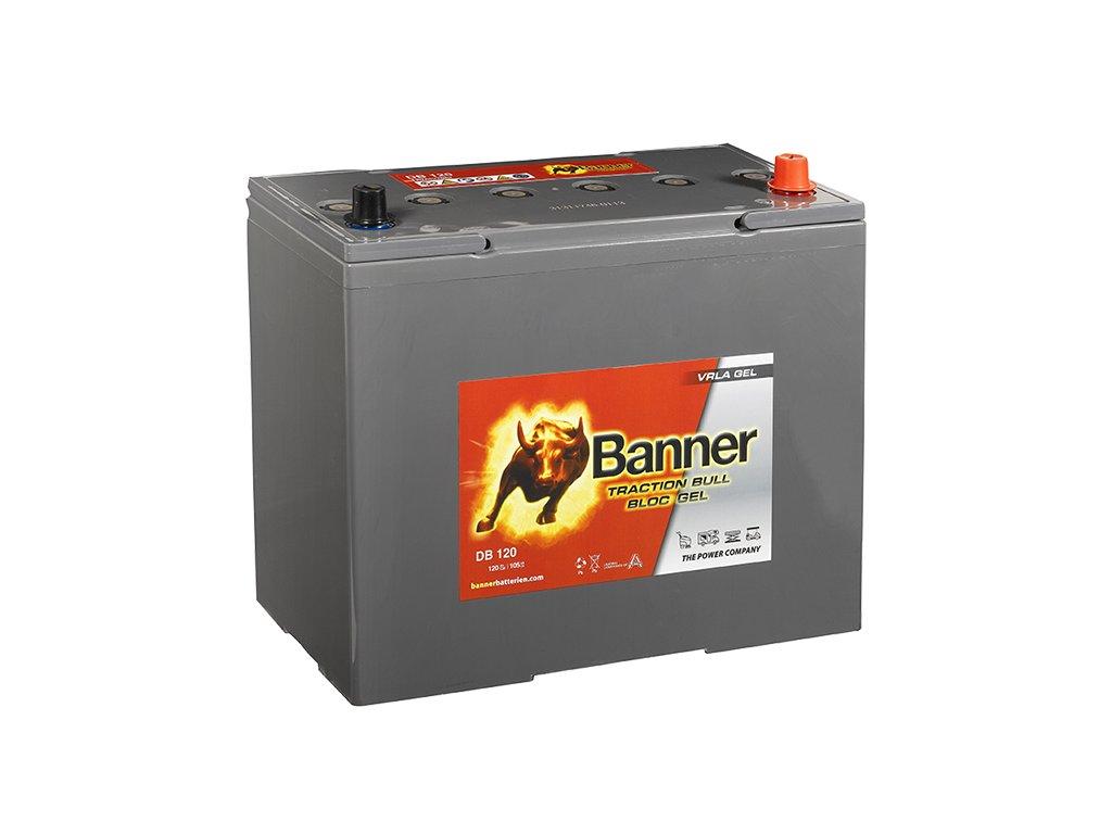Trakčná baterie Dry Bull DB 120, 120Ah, 12V