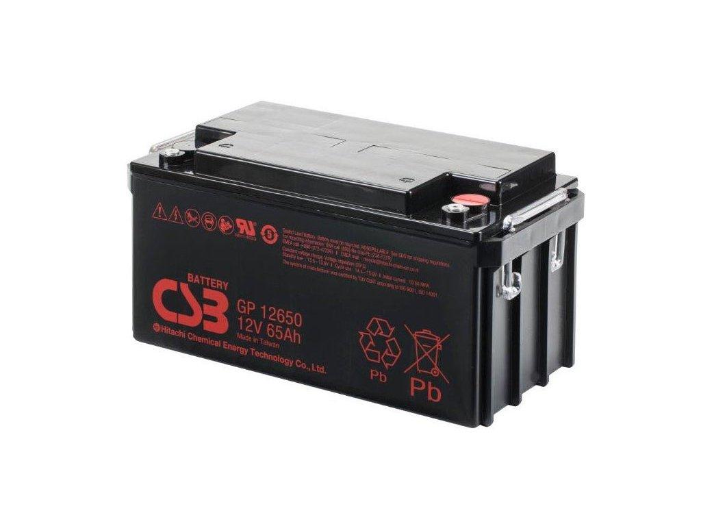 CSB Batéria GP12650, 12V, 65Ah