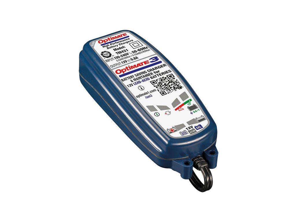 TECMATE - nabíjačka OPTIMATE 3, 12V – 0.8A (TM430)