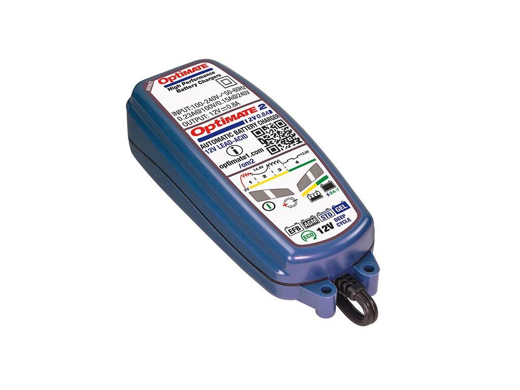 TECMATE nabíječka OPTIMATE 2, 12V - 0,8A, TM420