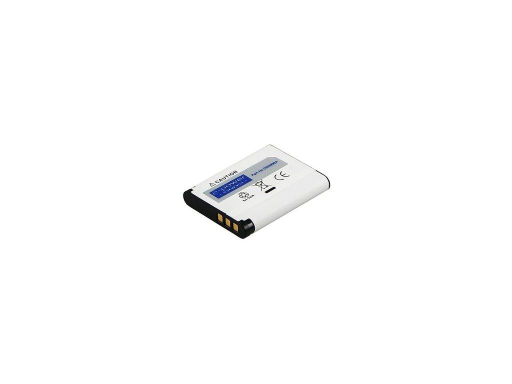 Baterie do fotaparátu Sanyo XactiVPC-CG20/XactiVPC-CG21/XactiVPC-CS1/XactiVPC-GH3/XactiVPC-GH4/XactiVPC-PD1/XactiVPC-X1200/XactiVPC-X1220/XactiVPC-X1220EXBK/XactiVPC-X1420, 620mAh, 3.7V, DBI9936A